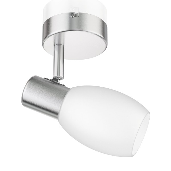 Deckenleuchte LUPI, einflammig inkl. LED E14 Lampe 300lm weiß