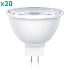 GU5.3 LED Lampe MR16 5W =33W 300lm 30° warm-weiß, 20 Stk.