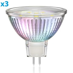 GU5.3 LED Reflektor MR16 1,9W 110lm 110° warm-weiß, 3 Stk.