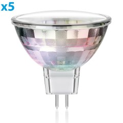 GU5.3 LED Spot MR16 1,6W 80lm 110° warm-weiß, 5 Stk.