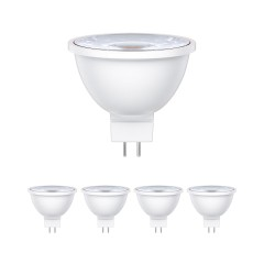 GU5.3 LED Spot MR16 5W =33W 300lm 30° weiß, 5 Stk.
