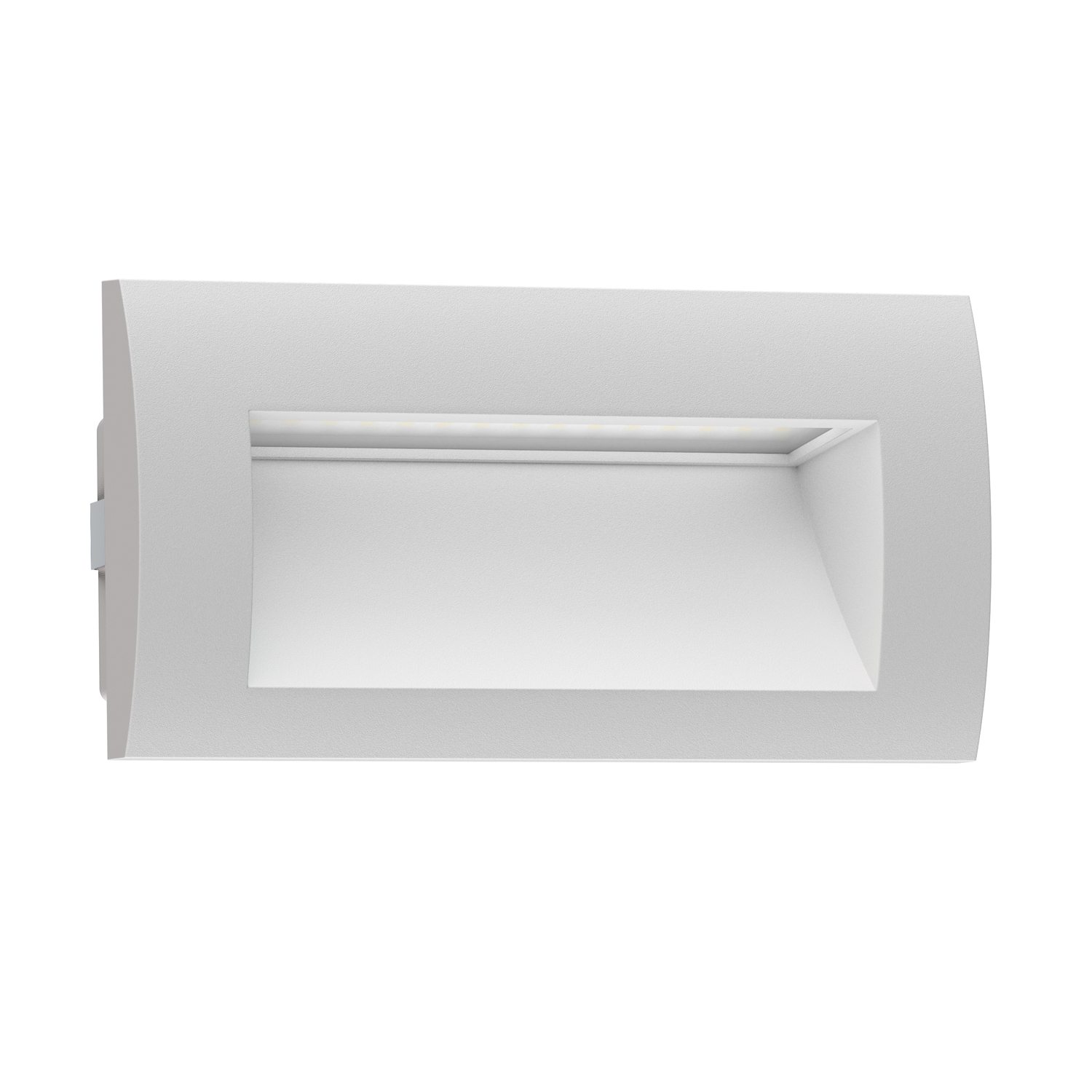 Ledscom led recessed wall light zibal for outdoor warm white ledscom led recessed wall light zibal for outdoor warm white 140x70mm aloadofball Image collections